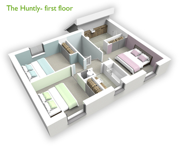 Huntly First Floor 3D