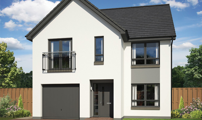 The Wisp New Build Homes Edinburgh Springfield Properties
