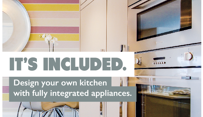 Kitchen appliances - It's Included
