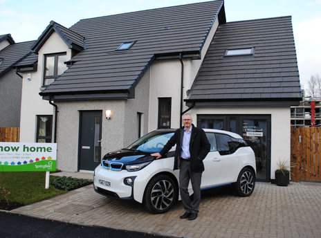 Springfield Properties get plugged into electric cars
