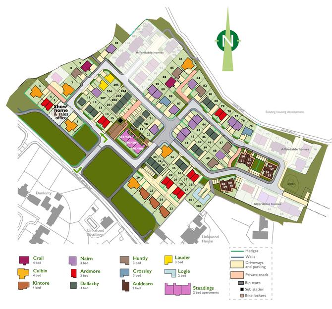 Linkwood Steadings Site Plan web master Oct 2019 APARTMENTS 01